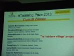 Palmar�s e-twinning 2013