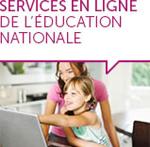 les services en ligne de l'Education nationale