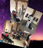 la rencontre entre écoliers, collégiens tarnais et astronautes américains